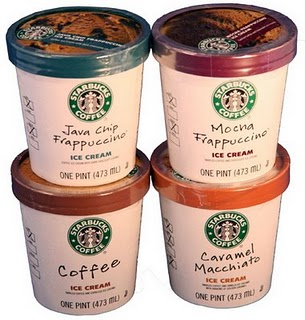 Starbucks icecream