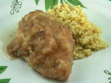Applesauce chicken